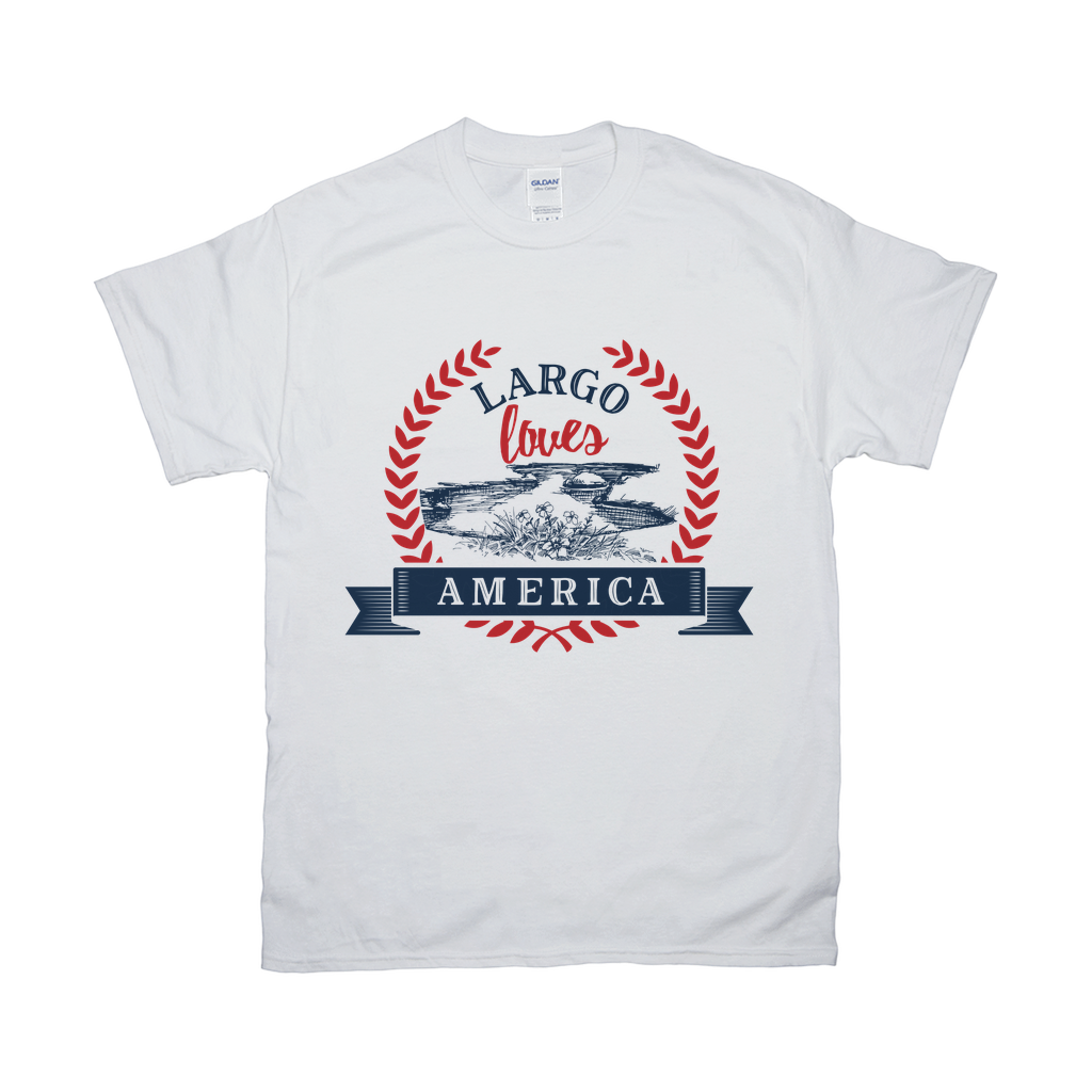Largo Loves America T shirt