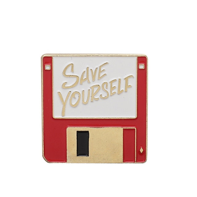 Floppy disk - Save yourself