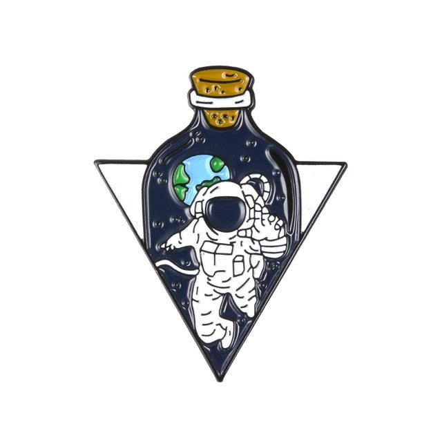Astronaut in a bottle