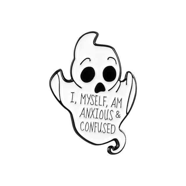 Ghost - Anxious & confused