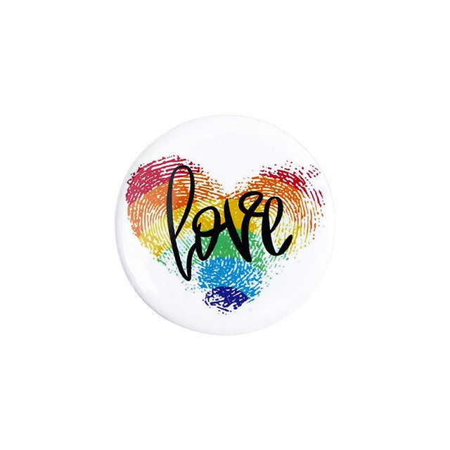 Badge - Pride love