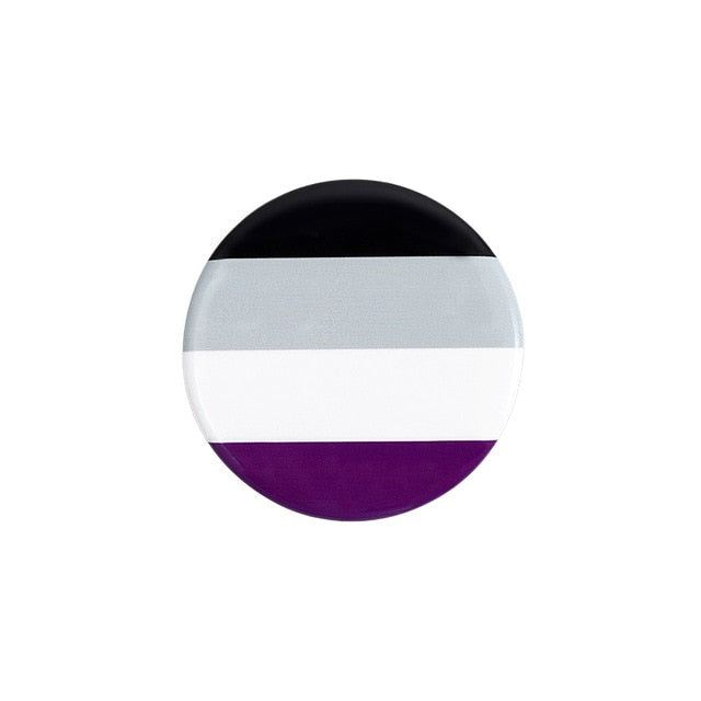 Badge - Asexuality pride