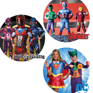 Superheroes Fancy Dress