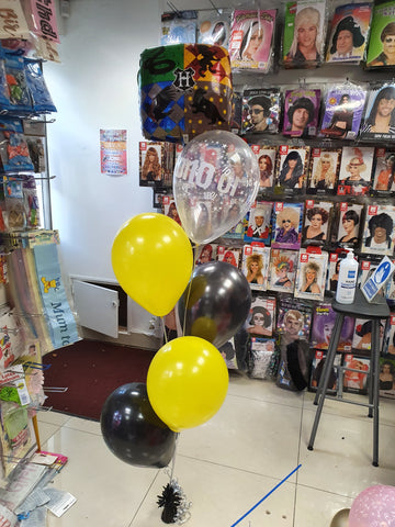 Harry potter Hufflepuff 10th birthday balloons