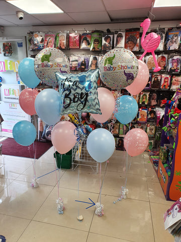 Baby Shower and Gender Reveal balloons