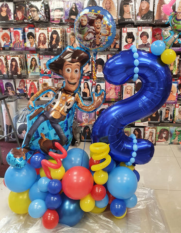 Toy Story Deluxe Double Supershape air-filled display