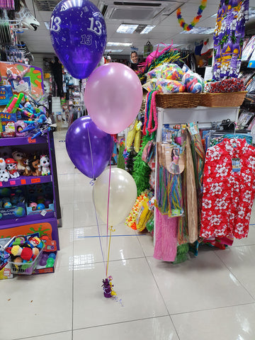 Four Balloon Bouquet