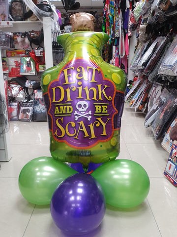 Spooky Halloween Air Filled Balloon Centrepiece
