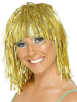 Tinsel Wigs - available in 2 Colours