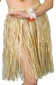 Straw Coloured Grass Skirt