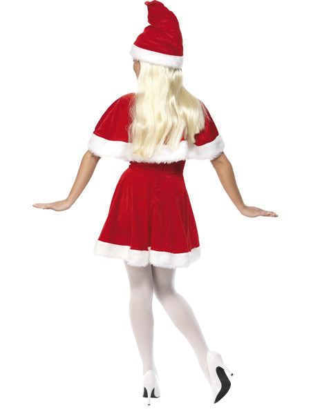 Miss Santa Dress, Hat & Cape