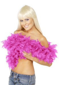 Deluxe Hot Pink Feather Boa