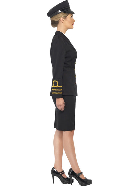 Navy Officer Female Costume