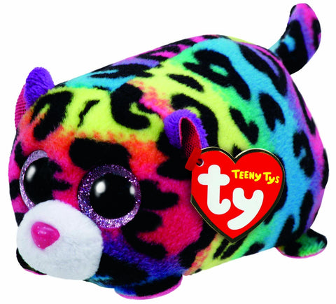 Jelly Multi Colour Leopard Teeny Ty