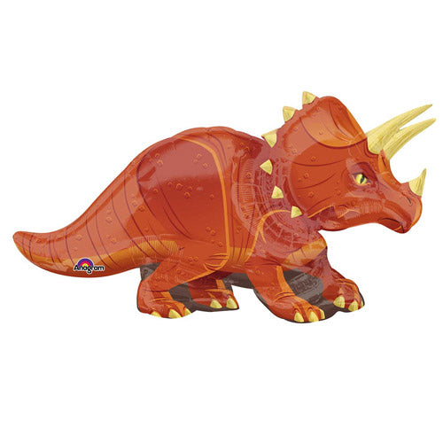 "42"" Triceratops Supershape Foil Balloon"