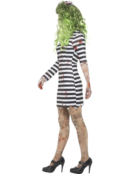 Zombie Jail Bird Costume