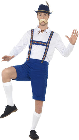 Blue Bavarian Costume