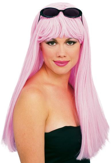 Glamour Wig Light Pink