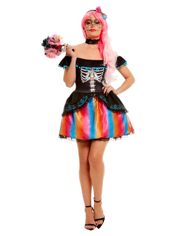 Day of the Dead Senorita Ombre Costume