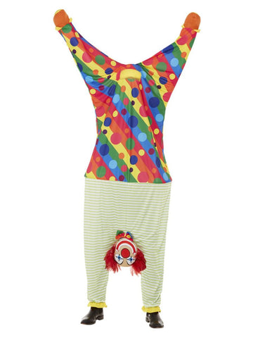 Upside Down Clown Costume