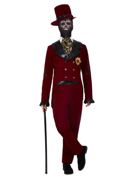 Deluxe Day of the Dead Sacred Heart Groom Costume