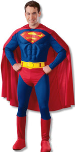 Superman Muscle Chest Costume