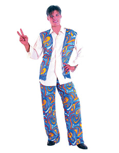 Flower Power Hippy Man Costume