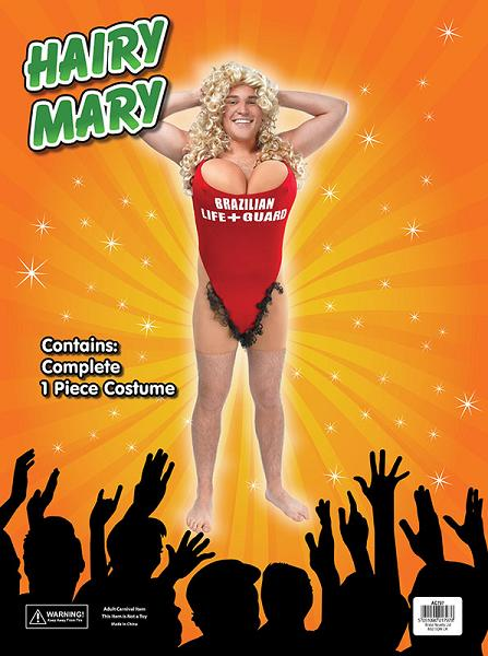 Hairy Mary Lifeguard Costume