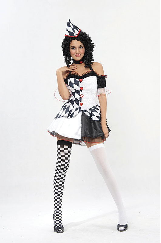 Female Harlequin Costume