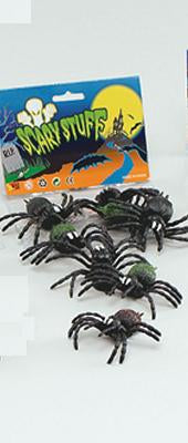 Mini Rubber Spiders