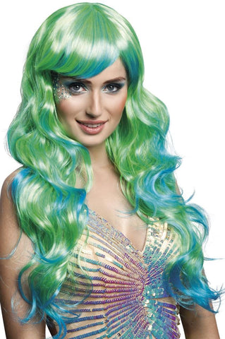 Aqua Mermaid Wig