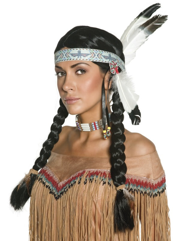 Authentic Western Unisex Indian Wig