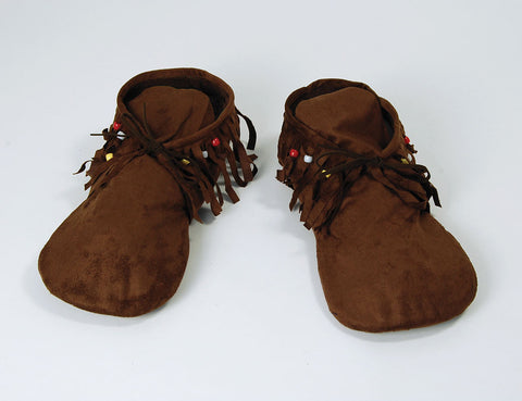Lady's Hippy Indian Moccasins