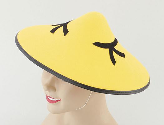 Yellow Chinese Coolie Hat