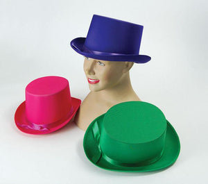 Satin Top Hat - 3 Colours