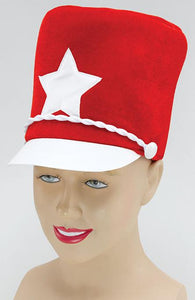 Red Majorette Hat