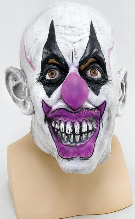 Scary Clown Rubber Mask