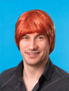 Ginger Male Short Wig