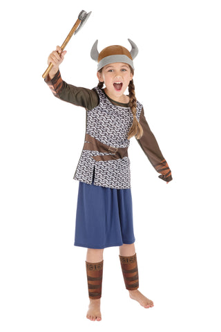 Bristol's Viking Girl Costume