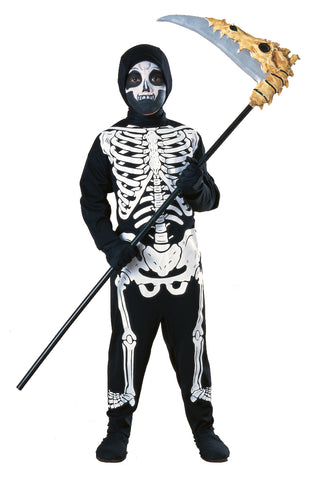 Budget Skeleton Costume