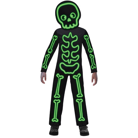 Child's Glow-in-the-Dark Stick Skeleton Costume