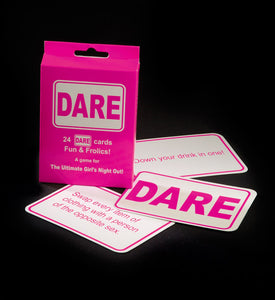 Hen Night Pink Dare Cards