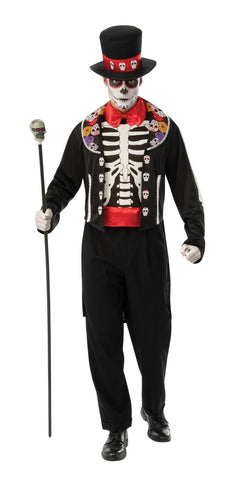 Day of the Dead Man Costume
