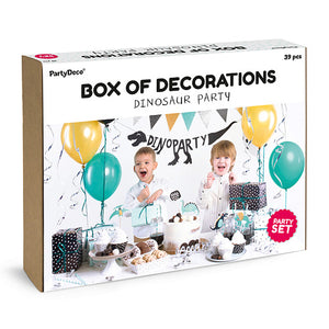 Dinosaur Party Box of Decorations