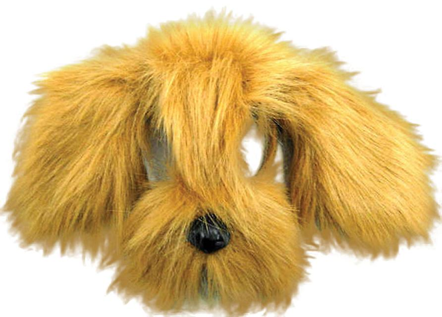 Shaggy Dog Mask - Brown