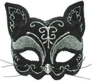 Black Cat Decorative Mask