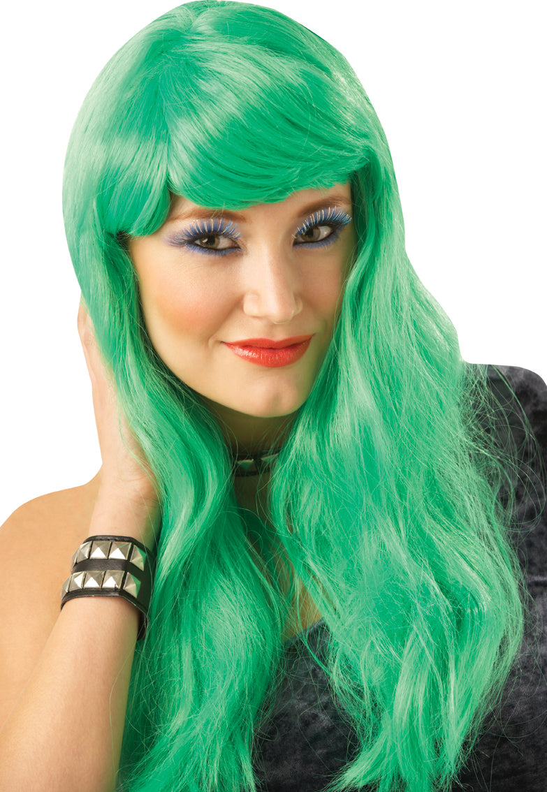 Glamour Wig Green