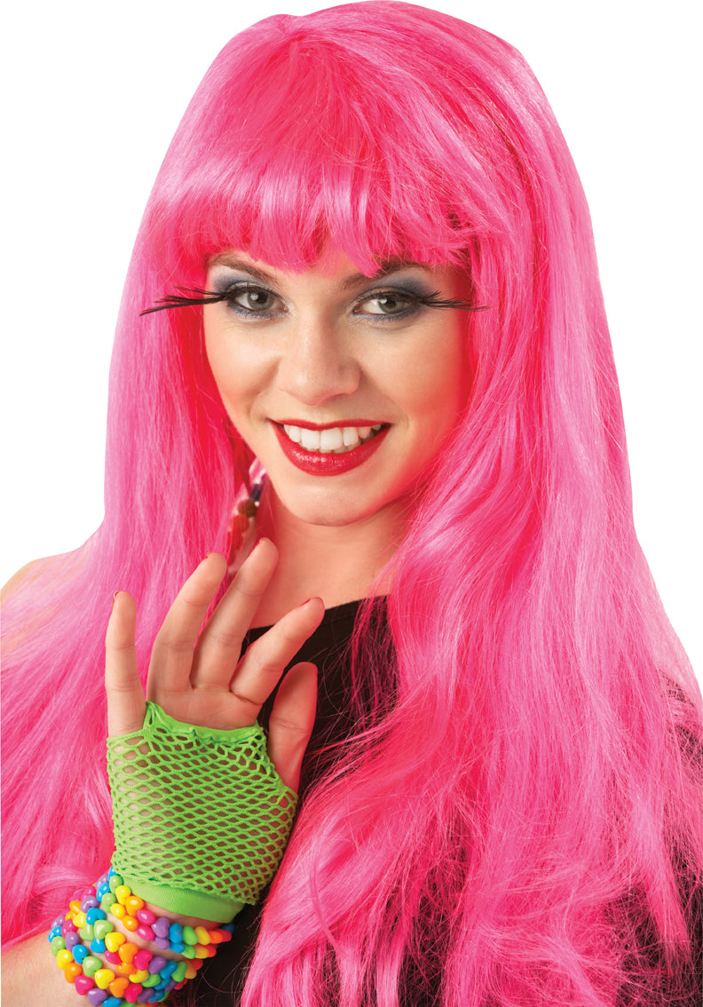 Glamour Wig Hot Pink