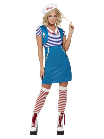 Blue Ice Cream Sailor Costume