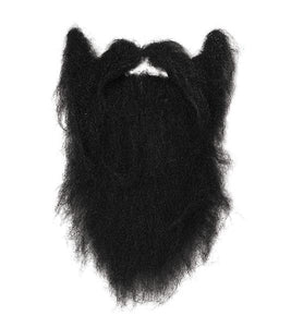Large Black Character Beard
